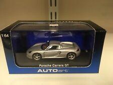 Autoart 1:64 Porsche Carrera GT Plata