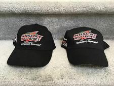 INTERSTATE BATTERIES RACING NASCAR ADJUSTABLE CAP Black HAT - lot of 2
