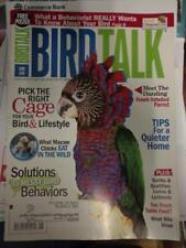 *BIRD TALK MAGAZINE Jun 11 Lory Lorikeet Hawkhead South American Parrot Diets