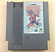 NES BLADES OF STEEL Nintendo Video Game Cartridge Only TESTED