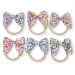 Cute Women Girls Hairband Bow Elastic Band Headband Flower Hair Accessories AU