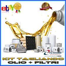 KIT TAGLIANDO OLIO + FILTRI OPEL CORSA C 1.0 DAL 09.2000 AL 12.2009
