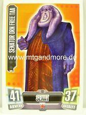 Force Attax Serie 2 Senator Orn Free Taa #053