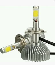KIT LED H7 AUTO LUCI LAMPADE 4400 LUMEN 60W BULBO X 2  6000k BIANCO GHIACCIO