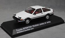 Kyosho Toyota Corolla Sprinter Trueno (AE86) GT Apex en Blanco 03891UW 1/43 Nuevo