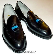 NEW $700 ALDEN 664 12 C/E GENUINE HORWEEN SHELL CORDOVAN SHOES TASSEL LOAFERS