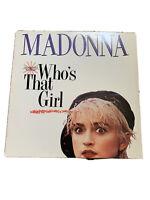 "Madonna Who's That Girl USA 12"" Record Maxi Single Vinyl VG Record 45rpm"