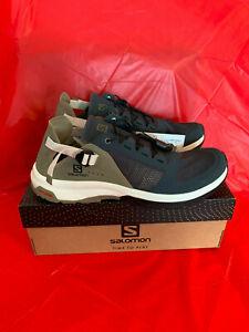 Salomon Men's TECHAMPHIBIAN 4 trail hiking sneakers walking shoes 407478 size 9
