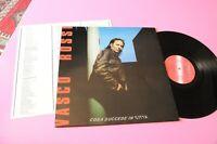 VASCO ROSSI LP COSA SUCCEDE IN CITTA ORIG 1985 EX COPERTINA LAMIANTA ED INSERTO