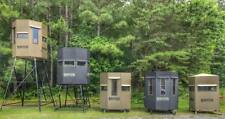 Raptor Hunting Blinds and Towers - All Aluminum Bed Liner Coating - Deer Hunting