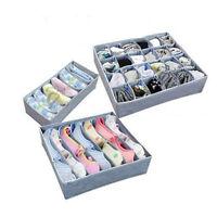 3pack New Storage soloution box wardrobe organiser drawer organiser socks bra