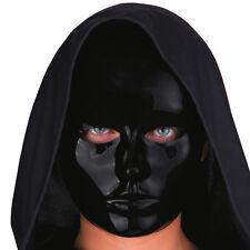 Masque neutre noir brillant 0078noir loisirs creatifs costumes deguisement fetes