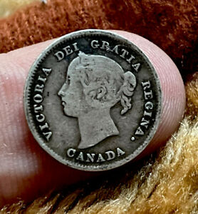 Canada 5 Cents 1889 Scarce