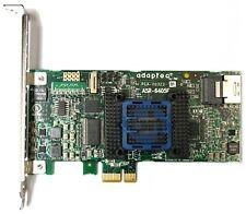 Adaptec RAID ASR-6405E 128MB - FH PCIe-x1 0,10, 1E JBOD SAS RAID Controller