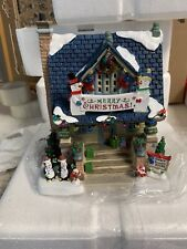 Lemax ~ BEST DECORATED HOUSE ~ Illuminated Building 85403 ~ NEVER DISPLAYED