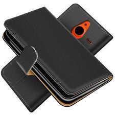 Handy Hülle Microsoft Lumia 640 XL Schutz Etui Booklet Cover PU Leder Tasche