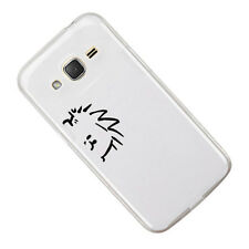 2X Calvin Peeping Sticker Die Cut Decal for mobile cell phone Smartphone Decor