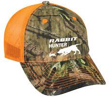 Cap Hat Camouflage Safety Orange Mesh Back Beagle Hunter Hunt Rabbit Dog Hound