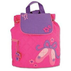 Personalised Stephen Joseph Ballet backpack for kids, School Bag, Nursery
