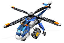 LEGO Creator 4995 Cargo Copter 100% Complete w/ Manuals