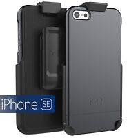 iPhone SE Armor Slim Rugged Hard Case + Belt Clip Holster