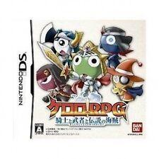 USED Keroro RPG: Kishi to Musha to Densetsu no Kaizoku Japan Import Nintendo DS