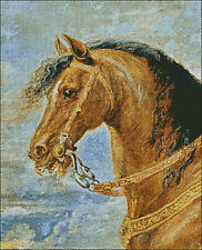 "Counted cross stitch kit ""Rubens Painting Horse"" 16 x 20 inch ( c30)"