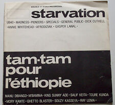 "Starvation / Tam Tam Pour L'Éthiopie 7""  Madness/Specials/UB40/King Sunny Ade"