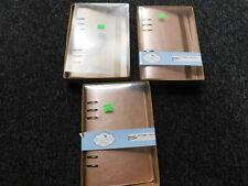 job lot three a5 planners essentials rose gold
