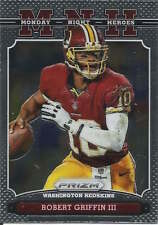 Robert Griffin III 2013 Panini Prizm Monday Night Heroes parallel insert card 21