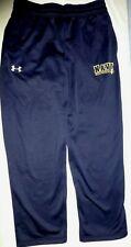 Men's Under Armour Storm US Navy Fleece Lines Blue Sweat Pants L