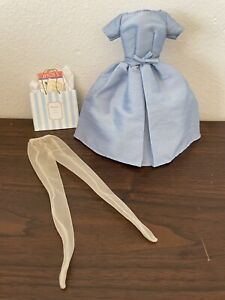 Silkstone Barbie Accessory Pack Accessories - BLUE DRESS, STOCKINGS & BAG ONLY