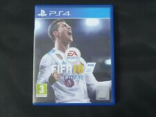 Sony PS4 PlayStation four Fifa 2018 game - P