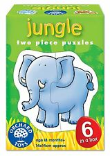 Orchard Toys Jungle-Two Piece Puzzle