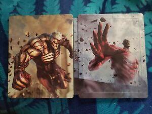 Attack on Titan 2 Steelbook. New, Steelbook only NO GAME.