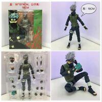 New S.H.Figuarts Naruto Shippuden Hatake Kakashi Action PVC Figure Toy In Box