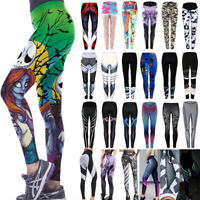 Women's Yoga Gym Pants Running Sports Leggings Fitness Jogging Stretchy Trousers