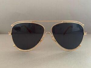 Stylish woman summer glasses