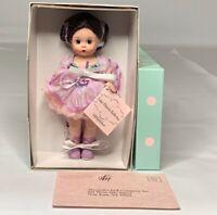 Madame Alexander Lilac Florets Ballerina, Rare, HTF, Retired, New, Mint