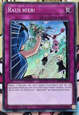 Raus Hier! RIRA-DE076 Secret Rare 1.Auflage DEUTSCH NM Yu-Gi-Oh