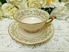 ❤ Lenox NOBLESSE Cup and Saucer Set