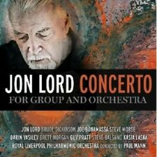 JON LORD - CONCERTO FOR GROUP AND ORCHESTRA  CD  CLASSIC ROCK & POP  NEU