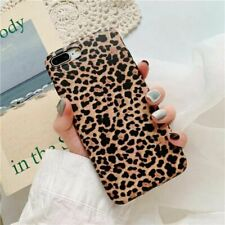 Rubber For iPhone XS Max XR 6s 7 8 Plus X Cover Soft Print Leopard Case Pattern