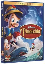 "DVD ""Pinocchio ""  Disney  n  2    édition 2 DVD  NEUF SOUS BLISTER"