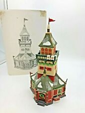 DEPT 56 SANTAS LOOKOUT TOWER HERITAGE VILLAGE 56294