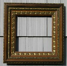 Stunning Antique Aesthetic Eastlake Victorian Style w Gilt Detail Picture Frame