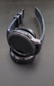 Samsung Gear S3 SM-R765V Frontier 46mm Smart Watch - Black