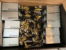 A batch sale of 5 Bitmain APW3++ 1600W PSU Power Supply Antminer.