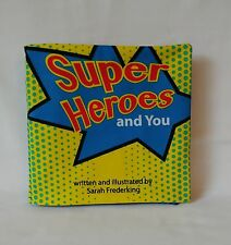 Super Heroes and You - Soft Cloth Books for Children, Boys, Girls, Baby, Child