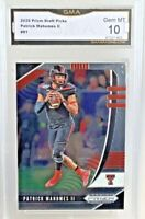 Gem Mint 10: 2020 Patrick Mahomes II, Panini Prizm Draft Picks #81